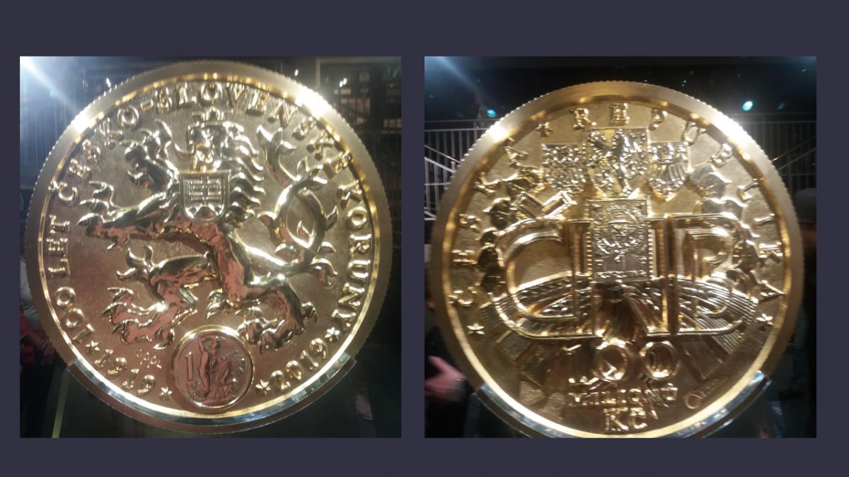 130kg zlatá mince