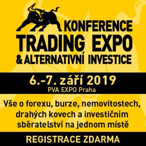 Veletrh Investor – Sběratel, Praha Letňany 6. – 7.9.2019