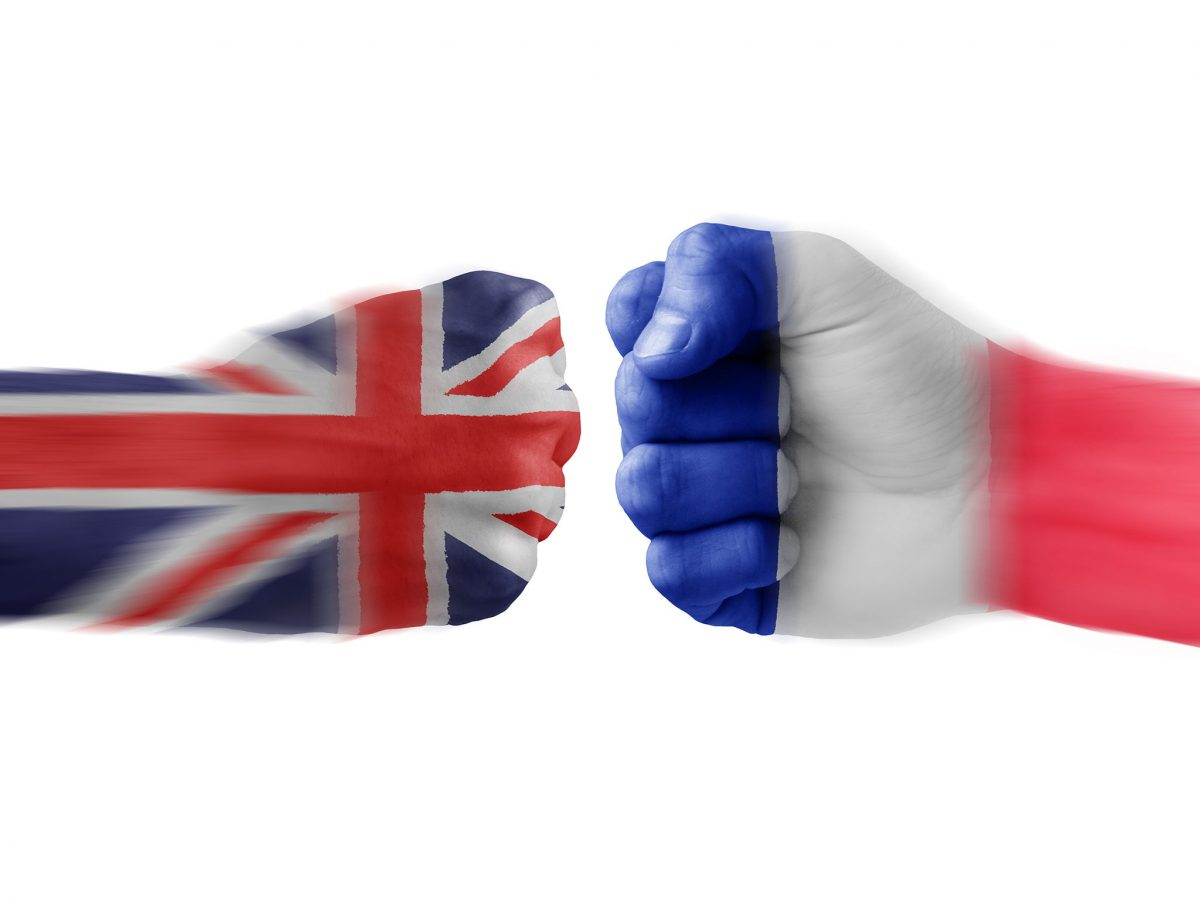 Brexit – Francie drží Velkou Británii pod krkem