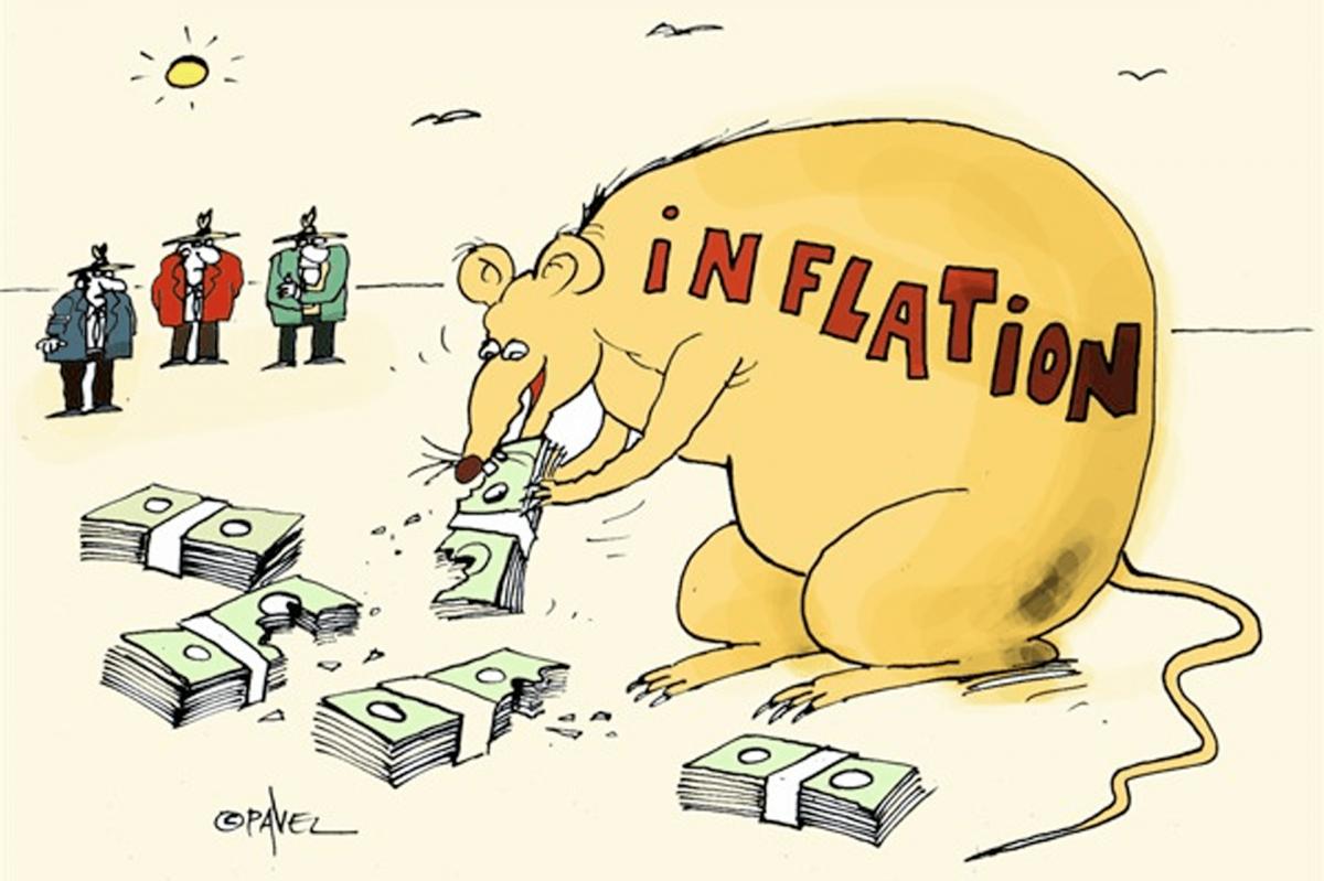 Inflace ve Spojených státech je na mnohaletých maximech