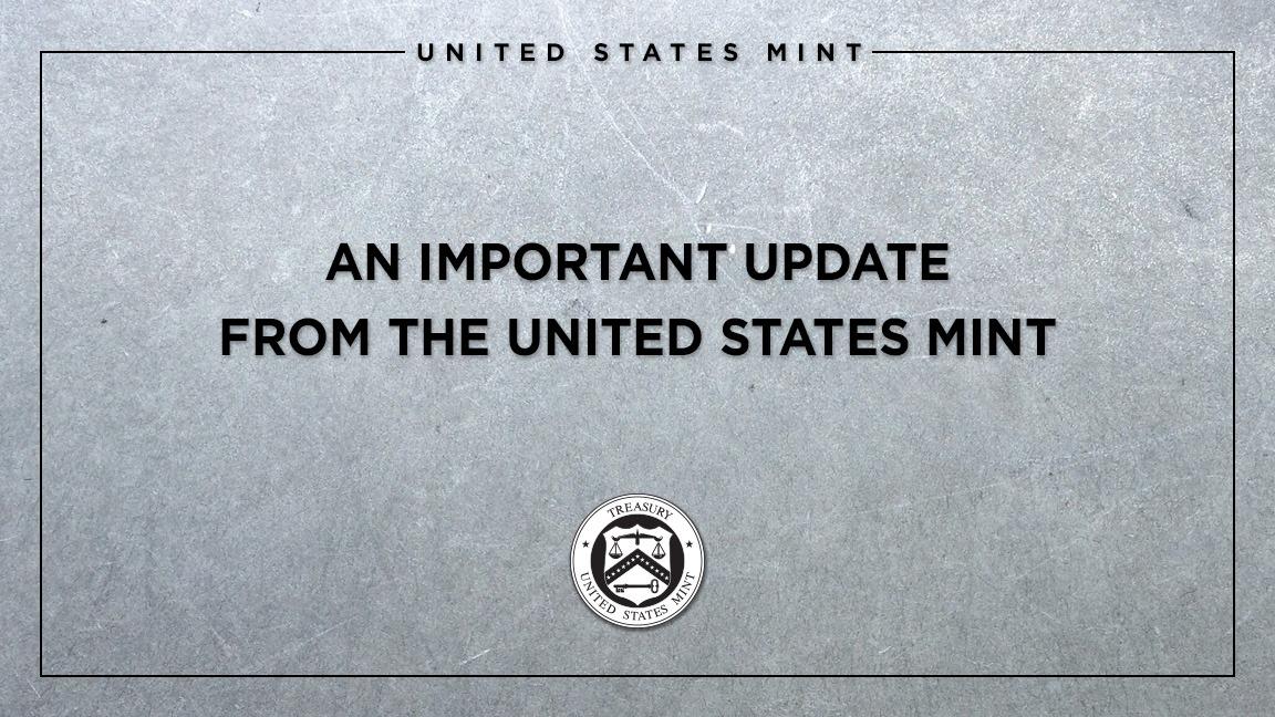 US Mint přiznává nedostatek stříbra