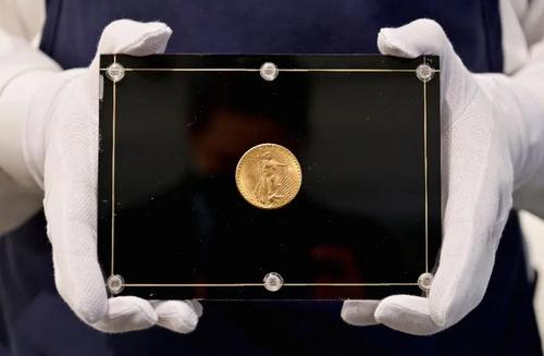 Dvacetidolarová mince Double Eagle Gold za 19,5 mil USD